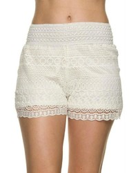 Kathy Lace Crochet Shorts