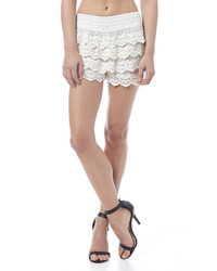 Tu Anh Boutique Crocheted Shorts