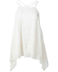 Alice olivia aliceolivia crochet detailing layered blouse medium 729155