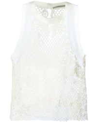 Ermanno Scervino Crochet Lace Top