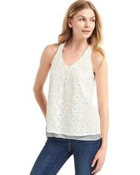 Crochet lace scoop tank medium 3670584