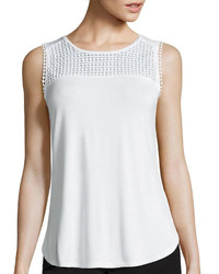 Liz Claiborne Crochet Tank Top Tall