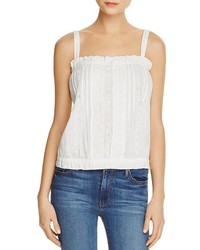 Current/Elliott Eyelet Lace Tank