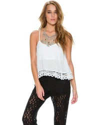 Swell Flower Gypsy Crop Tank