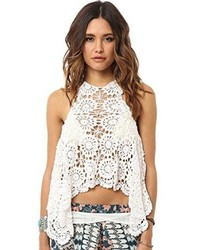O'Neill Juniors Mary Jane Crochet Swing Tank