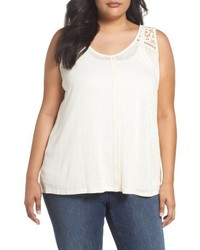 Plus size crisscross back tank medium 4951062