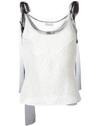 RED Valentino Crochet Vest Top