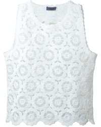 Ungaro emanuel crochet tank top medium 575905