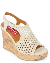 6536ccac05d ... POP Brooke Slingback Platform Wedge Sandals