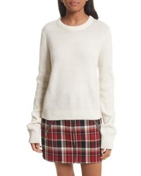 Ace cashmere crop sweater medium 5209095