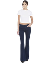 Alice + Olivia Cindy Cropped Tee