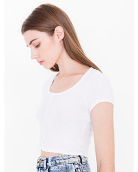 9f33e71c941 Women's White Cropped Tops from American Apparel | Women's Fashion ...
