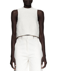 Proenza Schouler Cropped Folded Sleeveless Top