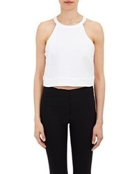 A.L.C. Devon Crop Top White