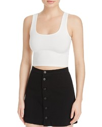 Groceries Apparel Fitted Crop Top