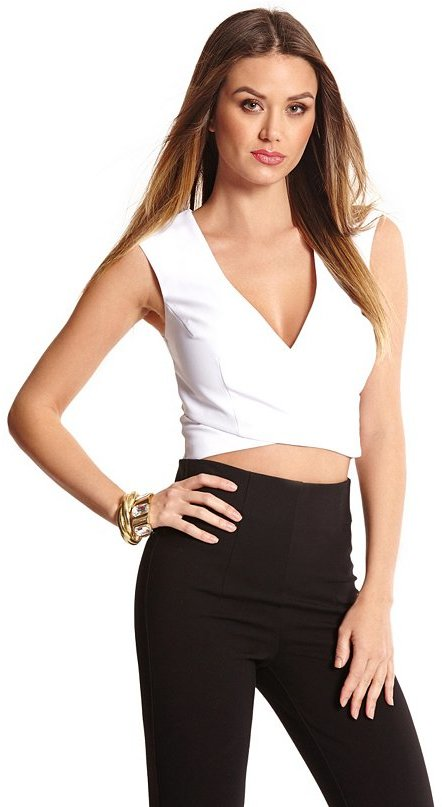 9456d975da0af ... GUESS by Marciano Kate Crop Top ...