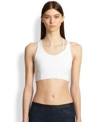 Helmut Lang Cutout Cropped Tank Top
