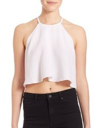 St Tropez Halter Crop Top