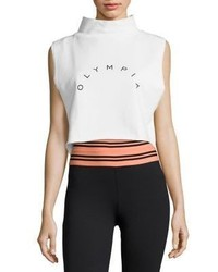 Olympia Nemea Logo Cropped Top