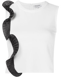 Opening Ceremony Pleat Detail Crop Top