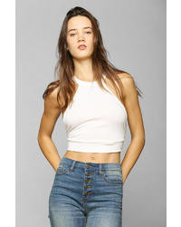 Sparkle & Fade Low Back Cropped Top