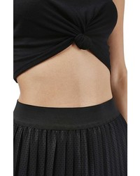 Topshop Knot Front Crop Camisole