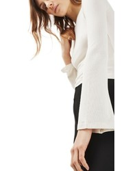 Topshop Tie Back Crop Top