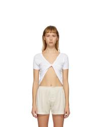 Jacquemus White Le T Shirt Sprezza T Shirt