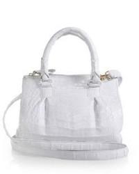 Nancy Gonzalez Crocodile Mini Pliss 233 Crossbody Bag