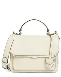 Rebecca Minkoff Small Top Handle Crossbody Bag White