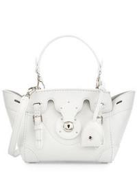 Ralph Lauren Soft Ricky 18 Crossbody Bag White