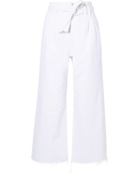 J Brand Belted High Rise Wide Leg Jeans