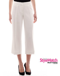 Worthington Worthington Wide Leg Culotte Pants