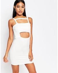 Boohoo Cut Out Bodycon Dress