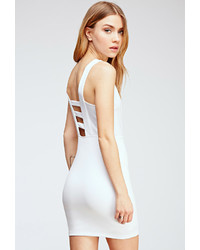 Forever 21 Scuba Knit Bodycon Dress