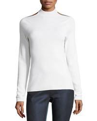 Gina cutout extrafine merino sweater medium 5276915