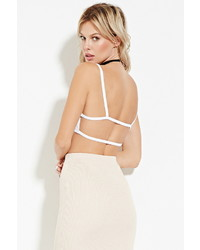 Forever 21 Cutout Back Cropped Cami