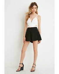 Forever 21 Tiger Mist Cut It Out Crop Top