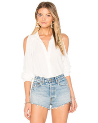 Yumi Kim Too Cool Top In White Size L
