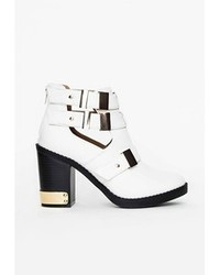 Missguided Sadie Gold Trim Cut Out