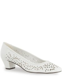Easy Street Shoes Easy Street Crystal Cutout Pumps