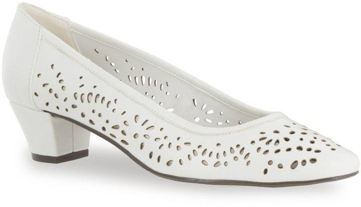 ffe94f1054ba Easy Street Shoes Crystal Cutout Pumps 54 Kohl S