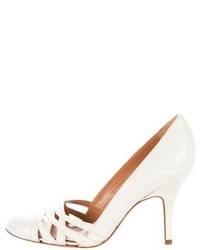Patent leather round toe pumps medium 5023518