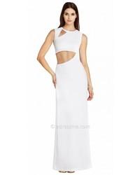 BCBGMAXAZRIA Kimora Cut Out Evening Dresses