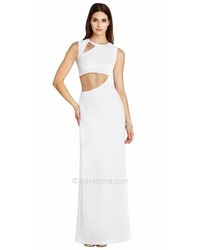 BCBGMAXAZRIA Kimora Cut Out Evening Dresses