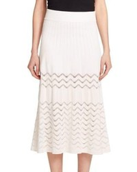 A.L.C. Snyder Perforated Knit Skirt