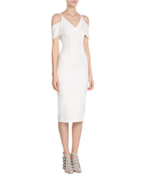 Roland Mouret Sheath With Cutout Shoulders