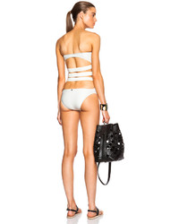 Adriana Degreas Giselle Cut Out Back Nylon Blend One Piece