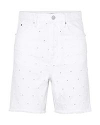 Isabel Marant Etoile Liny Distressed Denim Shorts