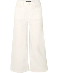 J.Crew Cropped High Rise Wide Leg Jeans